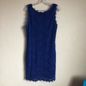 Jump Apparel Royal Blue Lace Dess